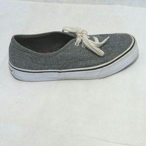 Airwalk Sneakers Canvas Women Size 6.5 Black
